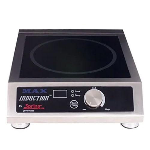 Spring USA SM-261C Countertop Commercial Induction Range w/ (1) Burner, 208 240v
