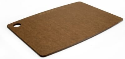 "Epicurean 001-181303 18 x 13"" Lightweight Cutting Board, NSF Recycled Paper, Nutmeg"