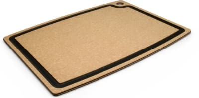 Epicurean 003-181301025EA Cutting Board w/ Juice Groove, 18 x 13-in, Natural/Slate