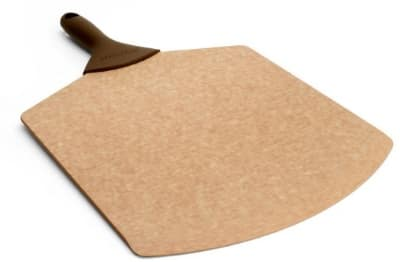 Epicurean 007-18120102EA 18 x 12-in Pizza Peel, Beveled Edge, Natural w/ Brown Handle