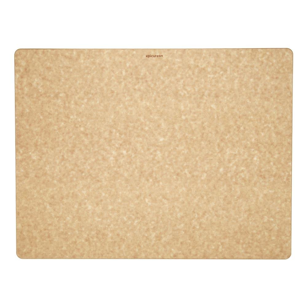 """Epicurean 014-211601025 Big Block Cutting Board, 21 x 16 x 1"""", Rectangle, Natural/Slate"""