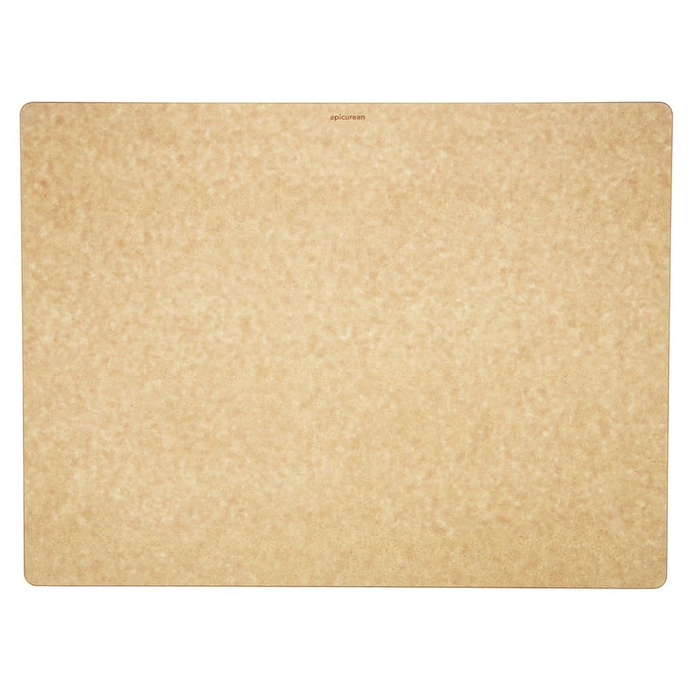 """Epicurean 014-241801025 Big Block Cutting Board, 24 x 18 x 1"""", Rectangle, Natural/Slate"""