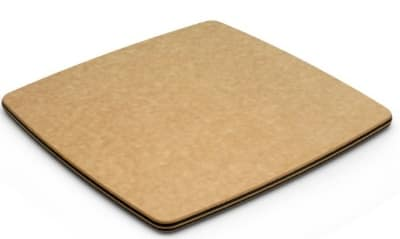 Epicurean 020-090901025 9 x 9-in Cheese Board, Dishwasher Safe Natural w/ Slate Edges