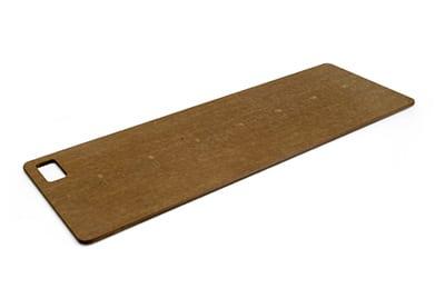 "Epicurean 013-230803 Large Fillet Cutting Board, 23x8"", Nutmeg"