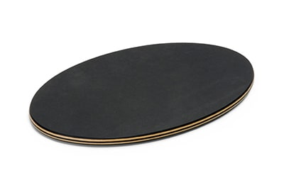"Epicurean 020-110602 Small Sushi Cut & Serve Board, 11x6"", Slate"