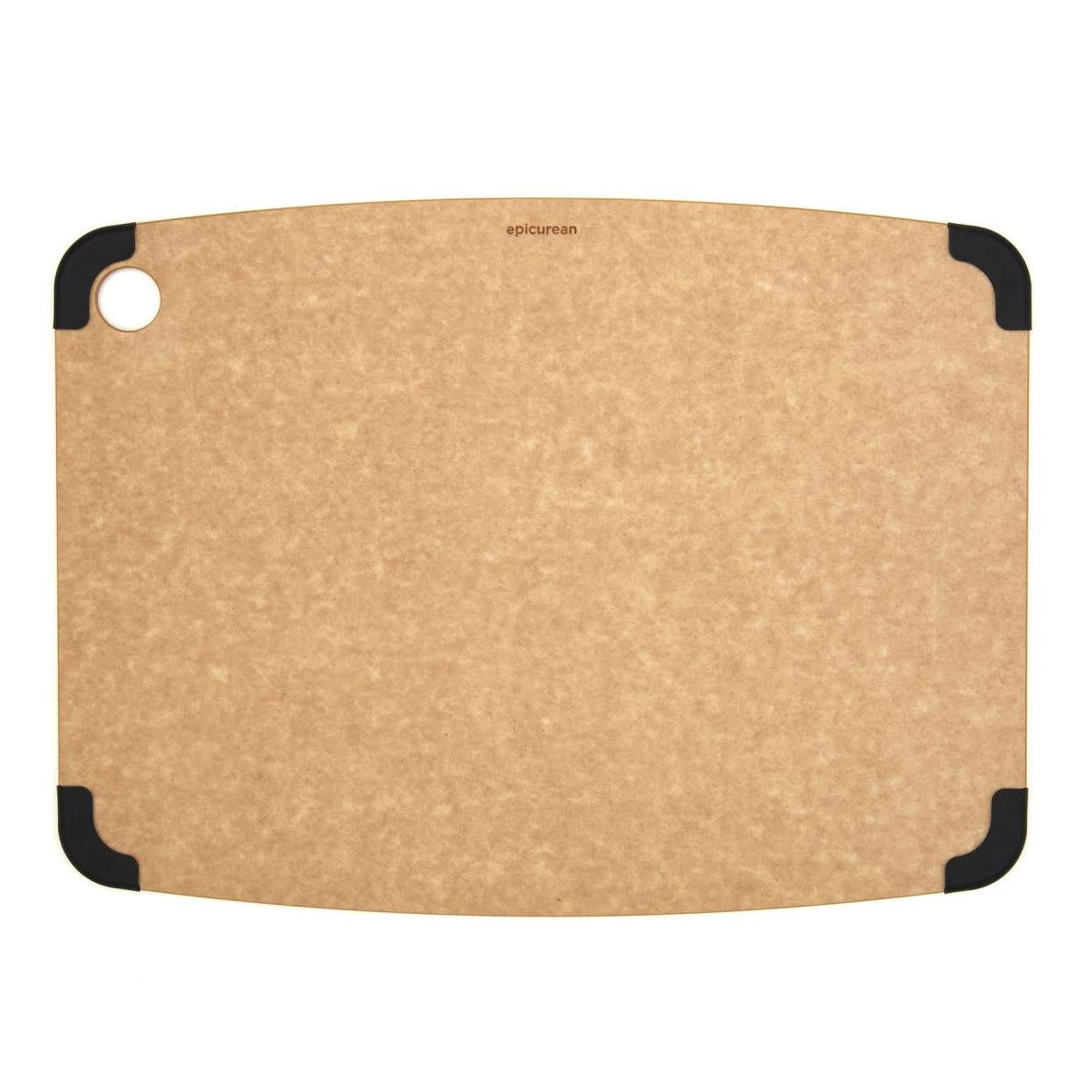 "Epicurean 202-18130103 Non Slip Cutting Board, 17.5x13"", Natural/Slate"