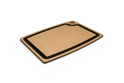 "Epicurean 003-15110102 Gourmet Cutting Board, 14.5x11.25"", Natural/Slate"