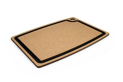 """Epicurean 003-18130102 Gourmet Cutting Board, 17.5x13.25"""", Natural/Slate"""