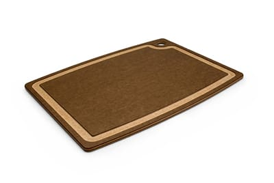 "Epicurean 003-18130301 Gourmet Cutting Board, 17.5x13.25"", Nutmeg/Natural"