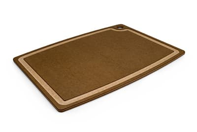 "Epicurean 003-20150301 Gourmet Cutting Board, 19.5x15"", Nutmeg/Natural"
