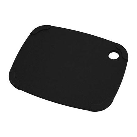 """Epicurean 404-120903 Eco Plastic Cutting Board w/ Non-Slip Corners, 12"""" x 9"""", Poly, Black"""