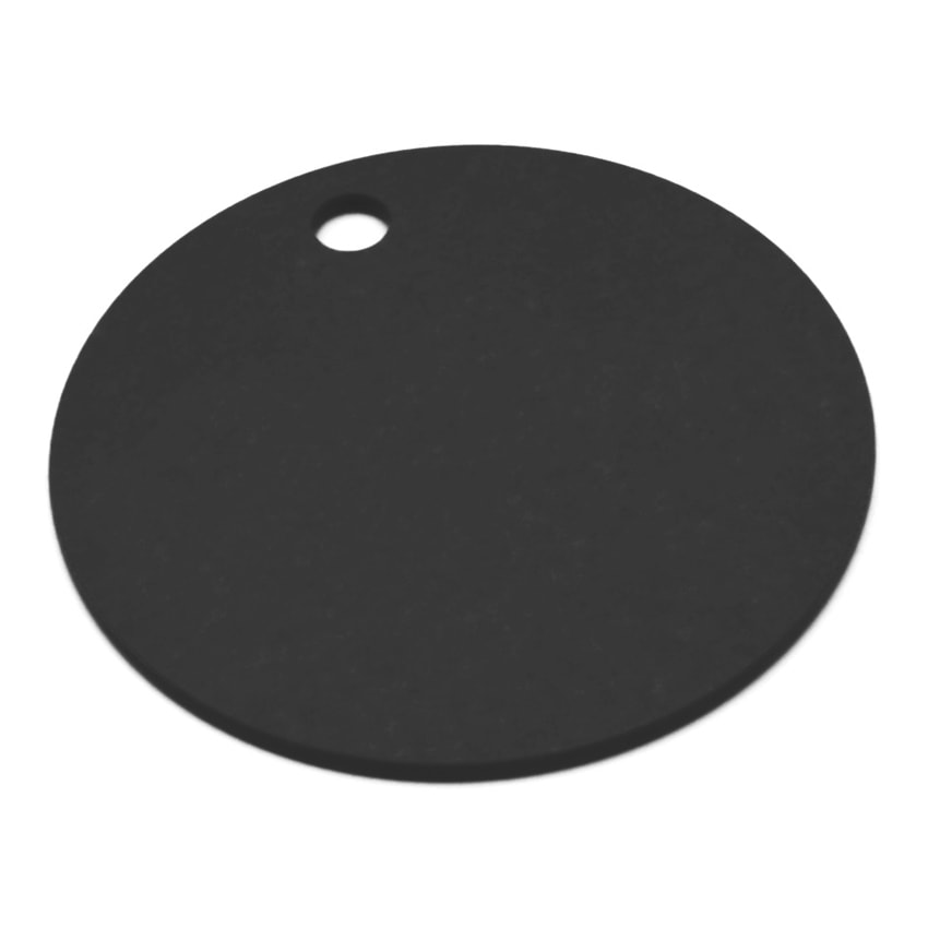 "Epicurean 429-000802 8"" Round Pizza Boardw/ .25"" Height, Slate"