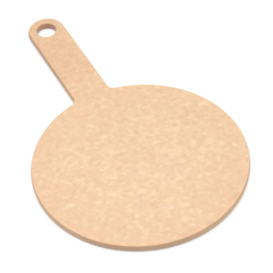 """Epicurean 429-130801 8"""" Round Pizza Board w/ 5"""" Handle, Natural"""