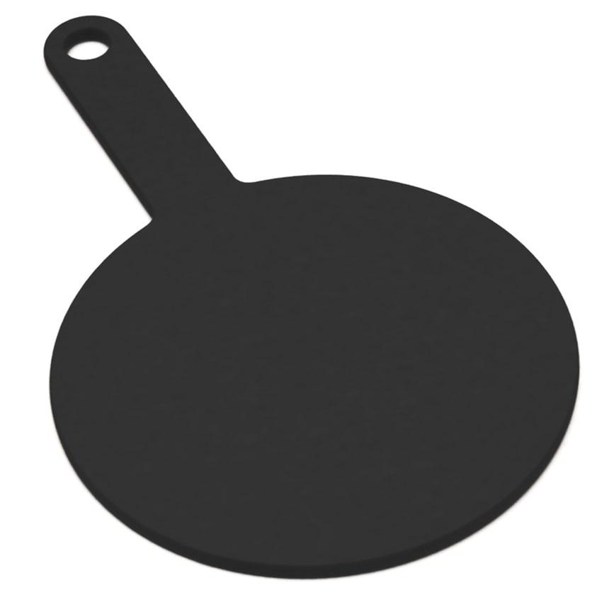 """Epicurean 429-130802 8"""" Round Pizza Board w/ 5"""" Handle, Slate"""