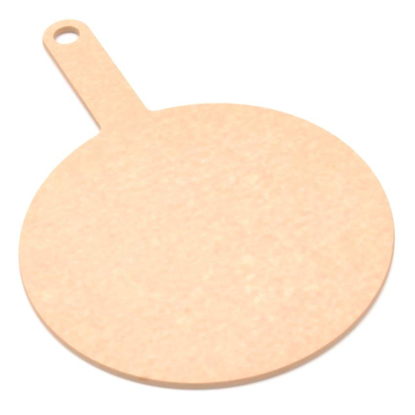 """Epicurean 429-151001 10"""" Round Pizza Board w/ 5"""" Handle, Natural"""