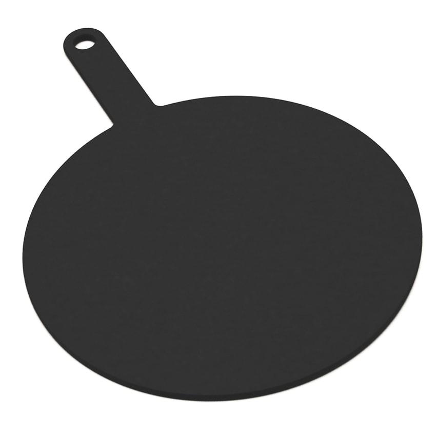 """Epicurean 429-171202 12"""" Round Pizza Board w/ 5"""" Handle, Slate"""