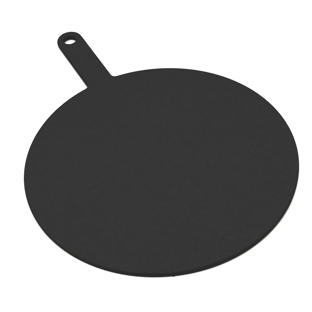 "Epicurean 429-191402 14"" Round Pizza Board w/ 5"" Handle, Slate"