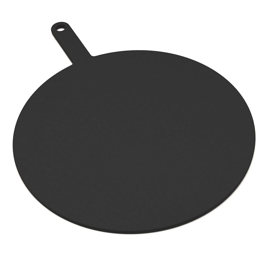"Epicurean 429-211602 16"" Round Pizza Board w/ 5"" Handle, Slate"