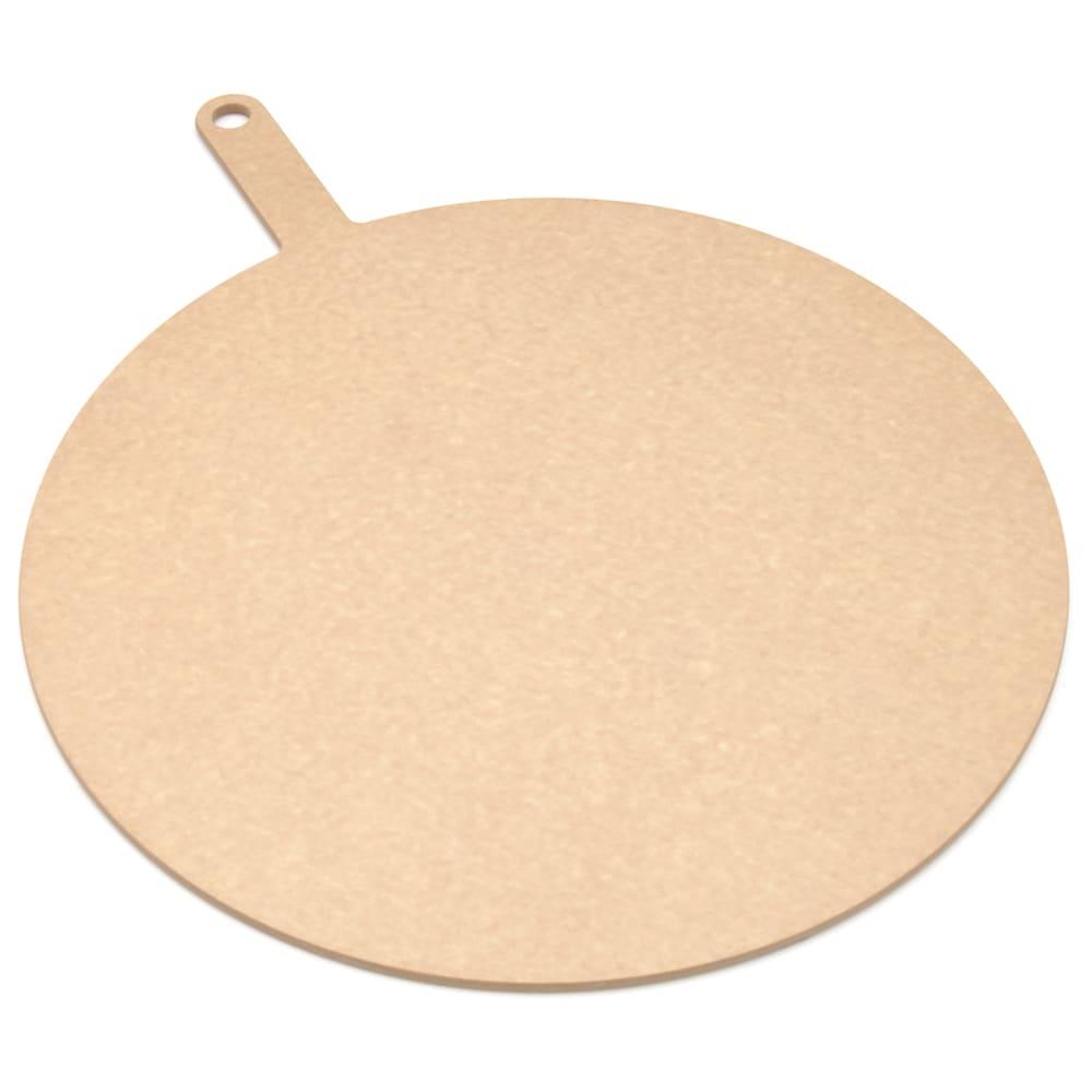 """Epicurean 429-231801 18"""" Round Pizza Board w/ 5"""" Handle, Natural"""