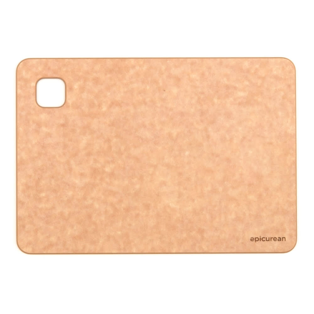 Epicurean 629-100701 Standard Cutting Board, 10x7x.38, Natural