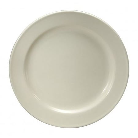 "Oneida F1010000117 6.25"" Round Neo-Classic Plate - Porcelain, Cream White"