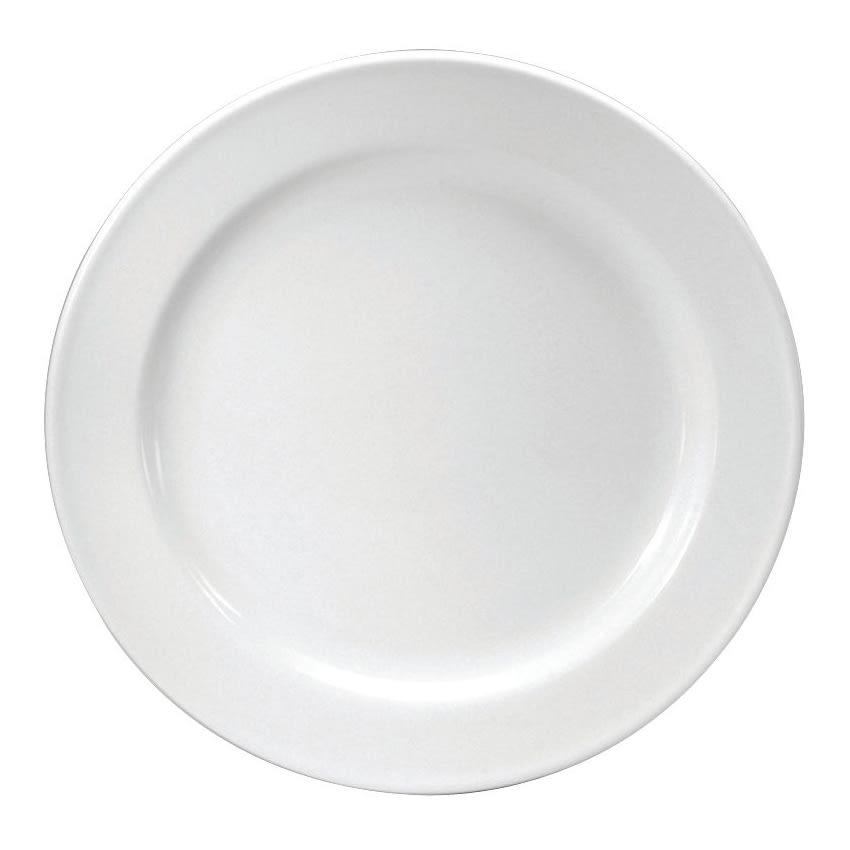 "Oneida F1010000149 10.25"" Round Neo-Classic Plate - Porcelain, Cream White"
