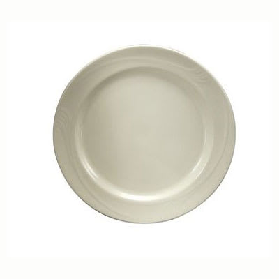 "Oneida F1040000117 6"" Espree Plate - Wide Rim, China, Cream White"