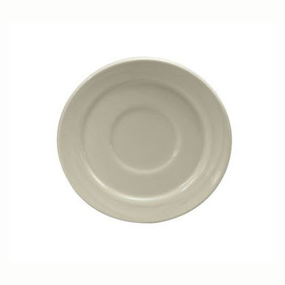 "Oneida F1040000500 5.5"" Espree Saucer - China, Cream White"