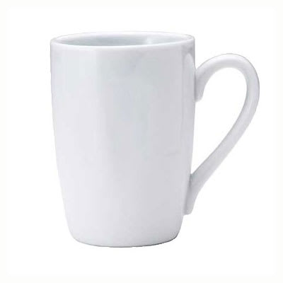 Oneida F8000000563 12-oz Buffalo Euro Mug - Porcelain, Bright White