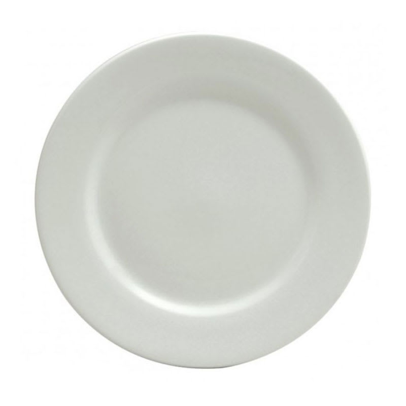 "Oneida F8010000163 12"" Buffalo Plate - Porcelain, Bright White"