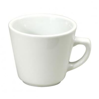 Oneida F8010000511 7 oz Vassar Cup - Porcelain, Bright White