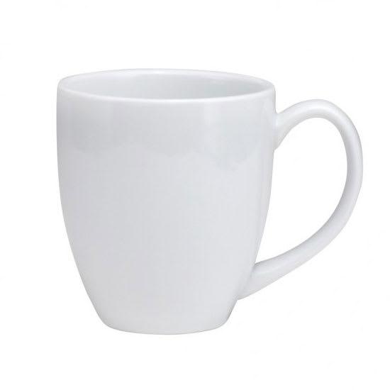 Oneida F8010000563 14 oz Buffalo Euro Mug - Porcelain, Bright White