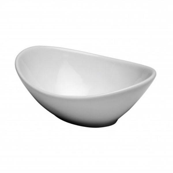 Oneida F8010000756 17 oz Buffalo Bowl - Porcelain, Bright White