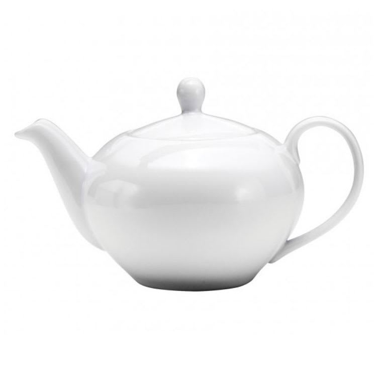 Oneida F8010000860 15.25-oz Buffalo Teapot - Porcelain, Bright White