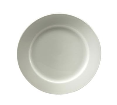 """Oneida R4220000143 9.5"""" Plate, Royale Undecorated, Sant' Andrea"""