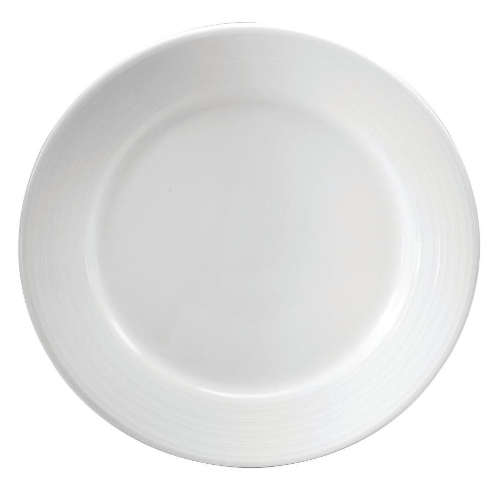 """Oneida R4570000167 12.5"""" Sant' Andrea Botticelli Plate - Porcelain, Bright White"""