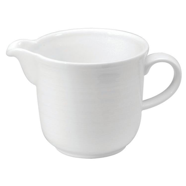 Oneida R4570000804 6 oz Sant' Andrea Botticelli Creamer - Porcelain, Bright White