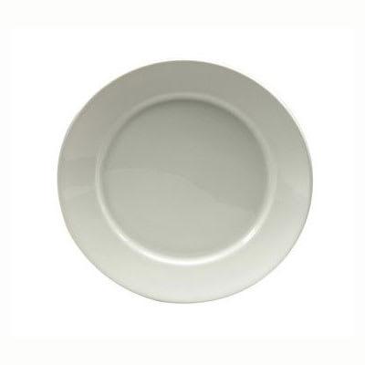 "Oneida R4650000118 6.38"" Queensbury Plate - Wide Angled Rim, Porcelain, Bright White"
