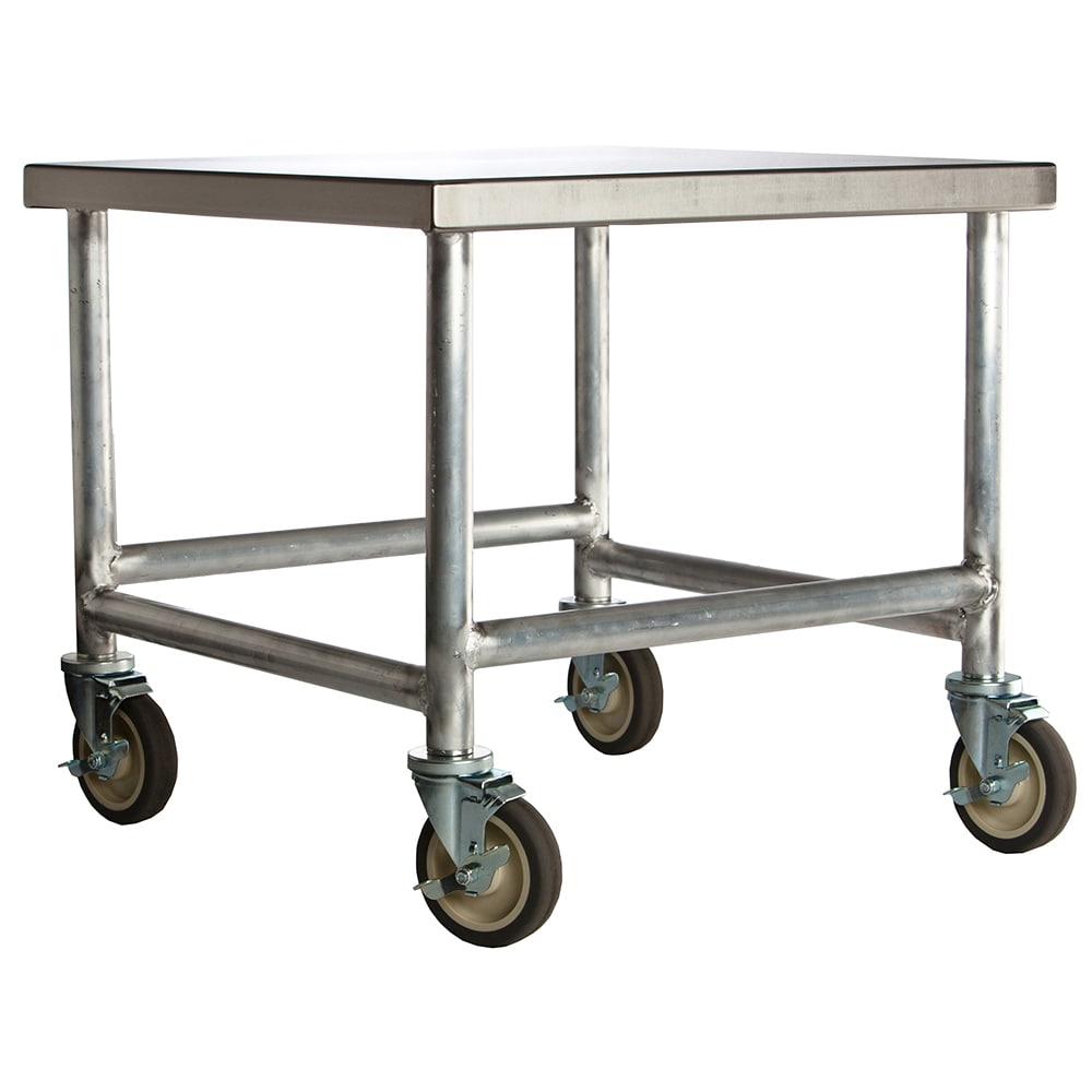 """Amana CA30 Cart w/ Casters, Stainless Top & Aluminum Frame, 30 x 26 x 26"""" D"""
