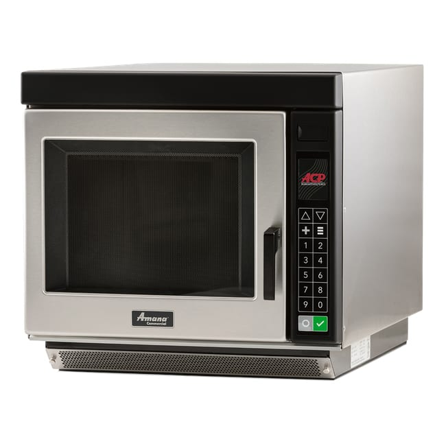 Amana RC17S2 1700w Commercial Microwave w/ Touch Pad, 240v/1ph