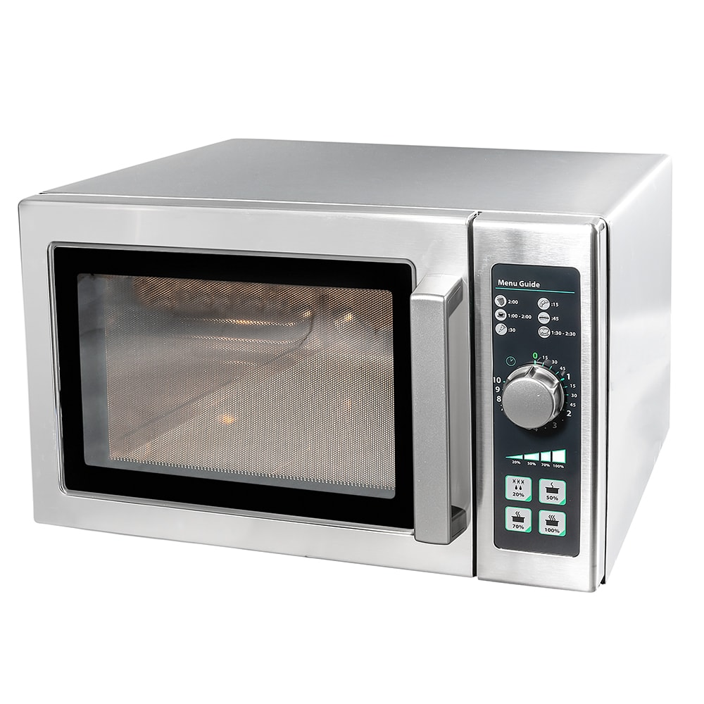 Amana RCS10DSE 1000w Commercial Microwave w/ Dial Control, 120v