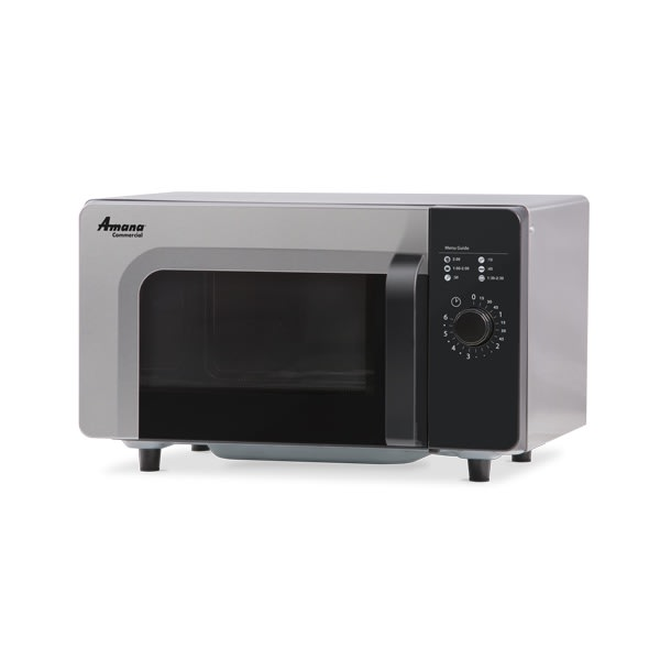 Amana RMS10DS 1000w Commercial Microwave w/ Dial Control, 120v