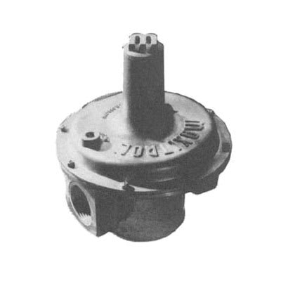 "Southbend 1167783 1"" Pre-Set Pressure Regulator w/ 10"" Maximum Capacity, LP"