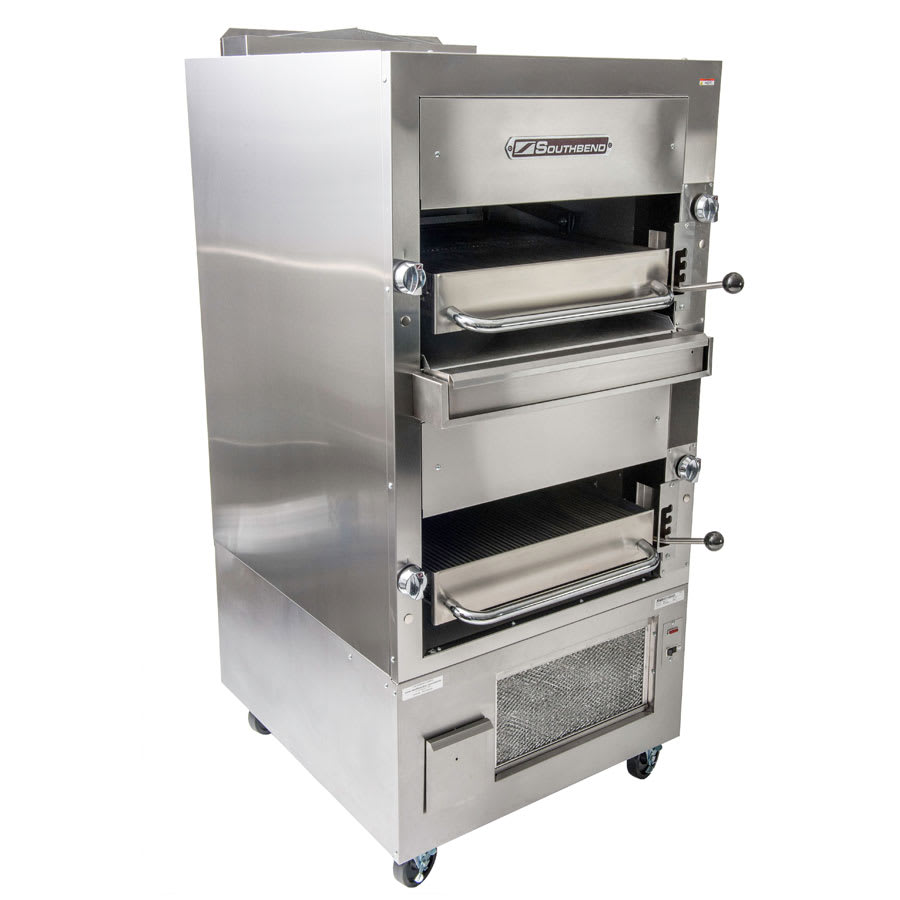 Southbend 270 Double Infrared Deck Radiant Broiler, Free Standing, NG