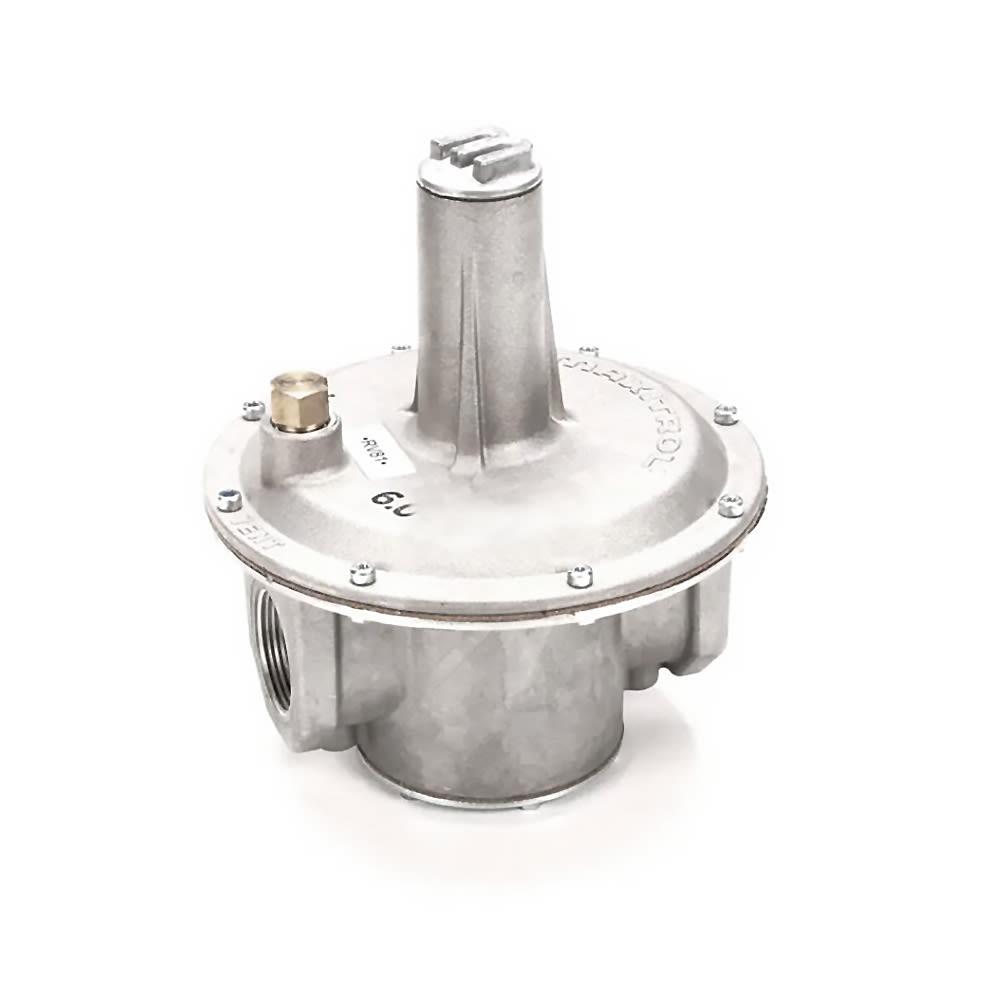 "Southbend 4450009 LP 1.25"" Gas Pressure Regulator w/ 6"" Maximum Capacity, NG"