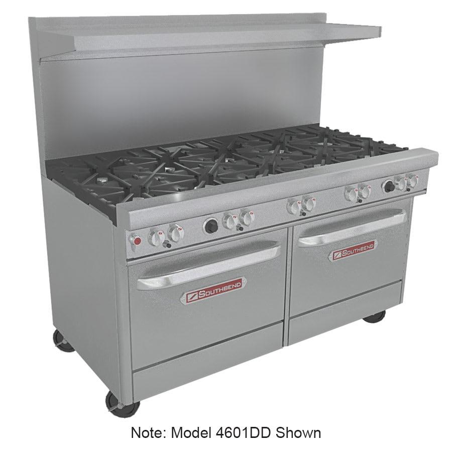 """Southbend 4602AA-2RR 60"""" 6-Burner Gas Range with Griddle & Broiler, LP"""