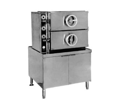 Southbend DDA-2S Direct Steam Pressure Steamer w/ (16) Full Size Pan Capacity, 115v