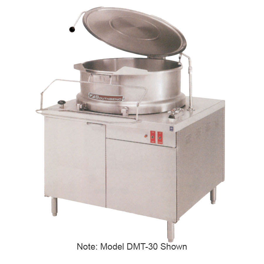 Southbend DMT-40 40 gal Direct Tilting Kettle, 2/3 Jacket, Stainless, 115v