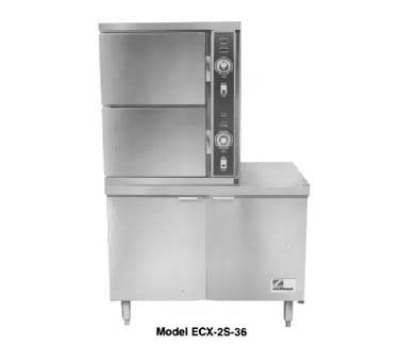 Southbend ECX-2S-36 Electric Floor Model Steamer w/ (6) Full Size Pan Capacity, 240v/3ph