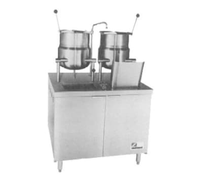 "Southbend EMT-6-6 36"" Standard Cabinet Assembly & (2) 6-Gallon Kettles, 208v/3ph"